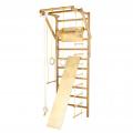 Ribstole s hrazdou, lavicí a příslušenstvím pro děti 230 x 78 cm BERGER XXL